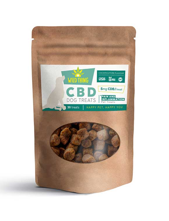 CBD Dog Treats: Joint Pain & Inflammation