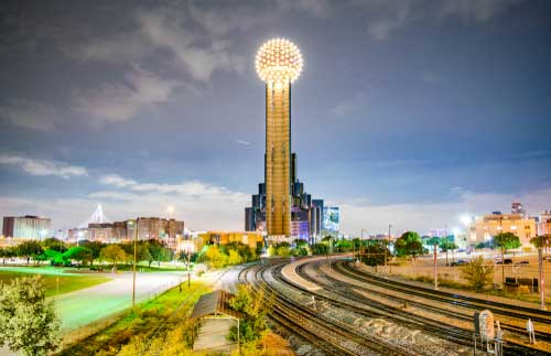 Shop CBD For Dogs And Cats In Dallas Texas Observation Tower