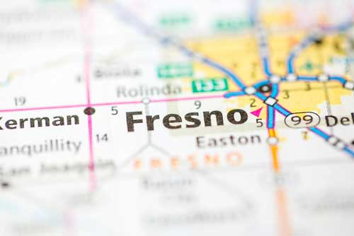 Shop CBD For Dogs And Cats In Fresno California Map