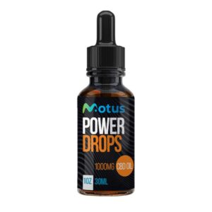 CBD Power Drops (ISO) – 30 ml – 1000 mg